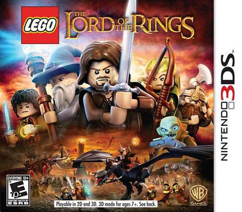 LEGO The Lord of the Rings (3DS) 3DS Game