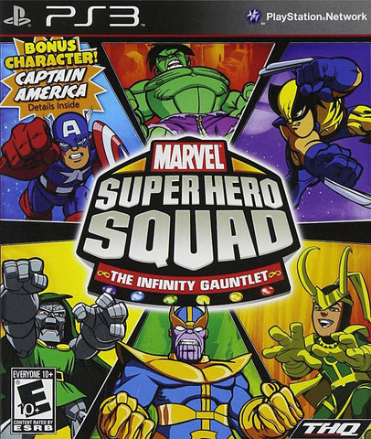 Marvel Super Hero Squad - The Infinity Gauntlet (PLAYSTATION3) PLAYSTATION3 Game