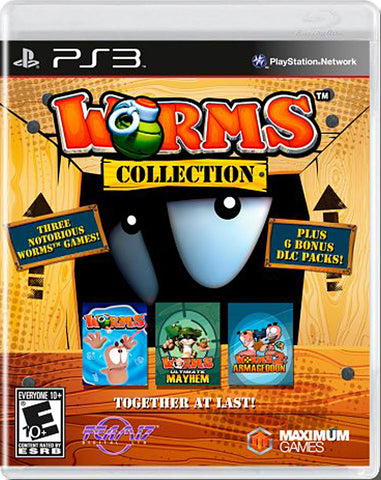 Worms Collection (PLAYSTATION3) PLAYSTATION3 Game