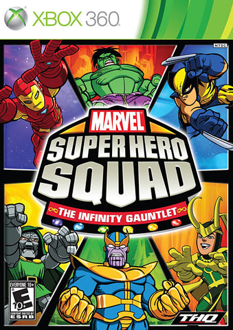 Marvel Super Hero Squad - The Infinity Gauntlet (XBOX360) XBOX360 Game