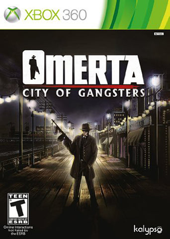 Omerta - City Of Gangsters (XBOX360) XBOX360 Game