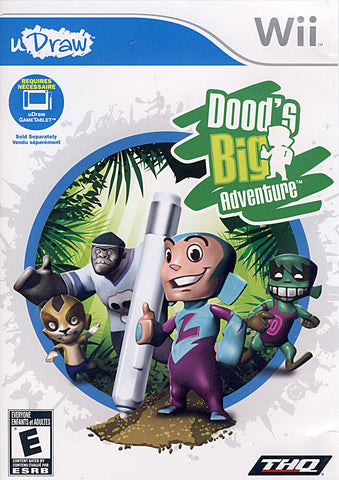 Udraw - Dood's Big Adventure (Game Only) (NINTENDO WII) NINTENDO WII Game