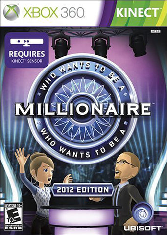 Who Wants to Be A Millionaire - 2012 Edition (Kinect) (Bilingual Cover) (XBOX360) XBOX360 Game
