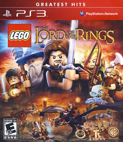 LEGO The Lord of the Rings (PLAYSTATION3) PLAYSTATION3 Game