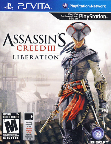 Assassin's Creed III - Liberation (PS VITA) PS VITA Game