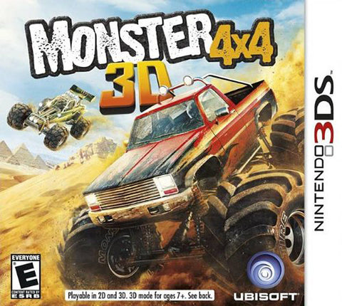 Monster 4x4 3D (3DS) 3DS Game