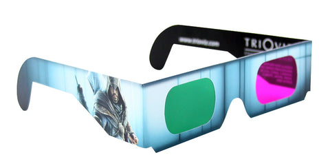 3D Trioviz Glasses (Assassin s Creed Edition) (PLAYSTATION3) PLAYSTATION3 Game