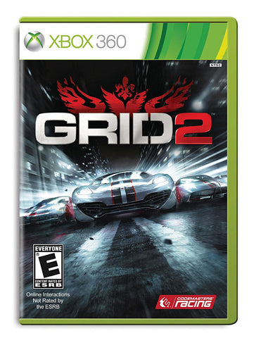 GRID 2 (Trilingual Cover) (XBOX360) XBOX360 Game