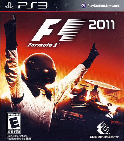 F1 2011 (PLAYSTATION3) PLAYSTATION3 Game