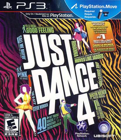Just Dance 4 (PLAYSTATION3) PLAYSTATION3 Game