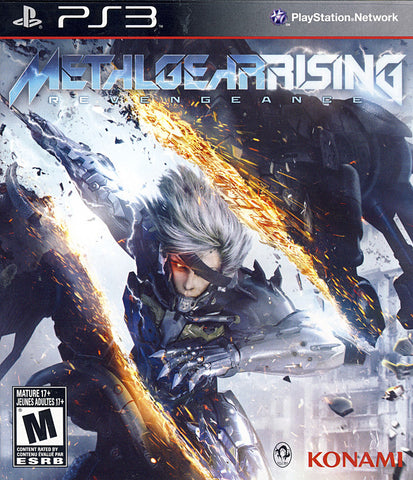 Metal Gear Rising - Revengeance (PLAYSTATION3) PLAYSTATION3 Game