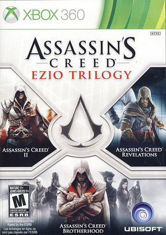 Assassin s Creed - Ezio Trilogy (Trilingual Cover) (XBOX360) XBOX360 Game