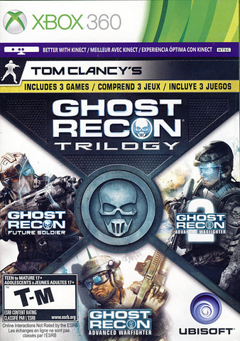 Tom Clancy s - Ghost Recon Trilogy (Trilingual Cover) (XBOX360) XBOX360 Game