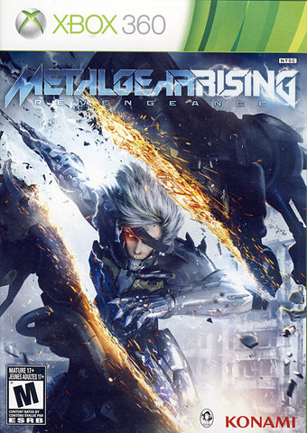 Metal Gear Rising - Revengeance (Trilingual Cover) (XBOX360) XBOX360 Game