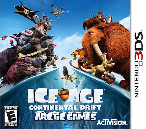 Ice Age - Continental Drift (3DS) 3DS Game