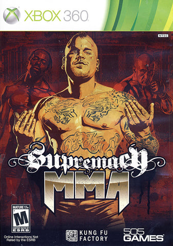 Supremacy MMA (XBOX360) XBOX360 Game