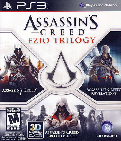 Assassin s Creed - Ezio Trilogy (Trilingual Cover) (PLAYSTATION3) PLAYSTATION3 Game