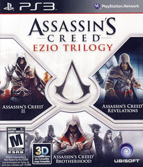 Assassin s Creed - Ezio Trilogy (Trilingual Cover) (PLAYSTATION3)