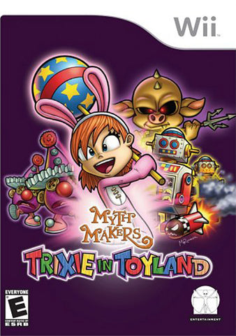 Myth Makers - Trixie in Toyland (Bilingual Cover) (NINTENDO WII) NINTENDO WII Game
