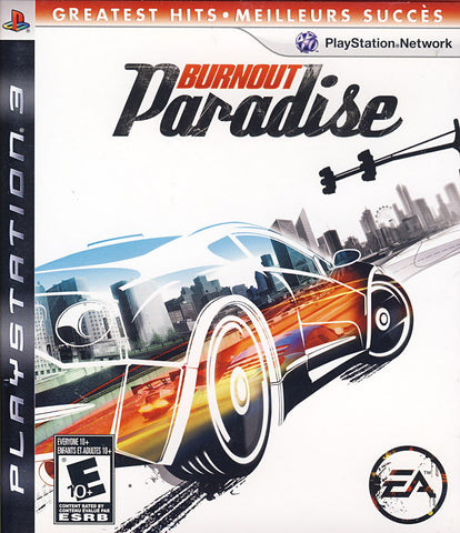 Burnout Paradise (PLAYSTATION3) PLAYSTATION3 Game