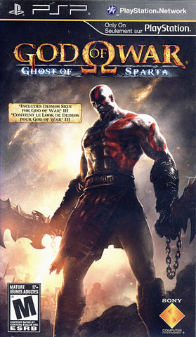God of War - Ghost of Sparta (PSP) PSP Game
