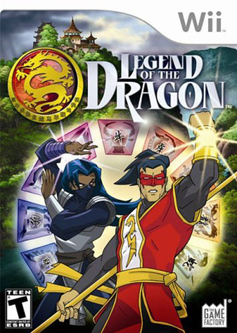 Legend of the Dragon (Bilingual Cover) (NINTENDO WII) NINTENDO WII Game