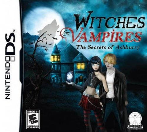 Witches and Vampires - The Secrets of Ashburry (Bilingual Cover) (DS) DS Game