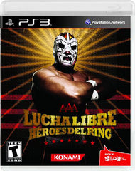 Lucha Libre AAA - Heroes Del Ring (Trilingual Cover) (PLAYSTATION3)
