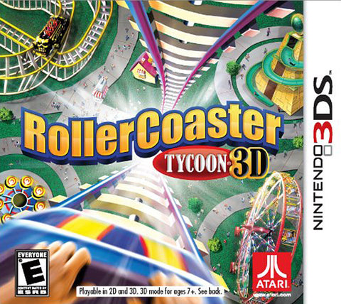 Rollercoaster Tycoon 3D (Bilingual Cover) (3DS) 3DS Game