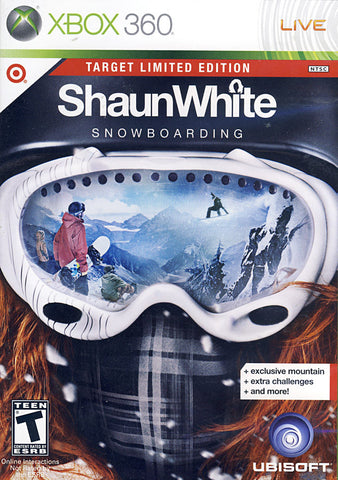 Shaun White - Snowboarding (Target Limited Edition) (XBOX360) XBOX360 Game