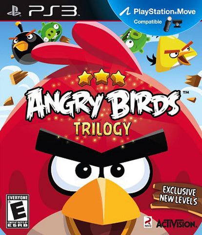 Angry Birds Trilogy (Playstation Move) (PLAYSTATION3) PLAYSTATION3 Game