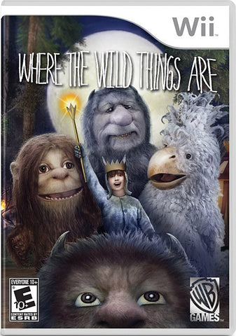 Where the Wild Things Are (NINTENDO WII) NINTENDO WII Game