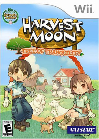 Harvest Moon - Tree of Tranquility (NINTENDO WII) NINTENDO WII Game