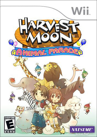 Harvest Moon - Animal Parade (NINTENDO WII) NINTENDO WII Game