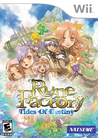 Rune Factory - Tides of Destiny (NINTENDO WII) NINTENDO WII Game