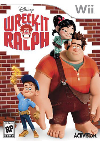 Wreck-It Ralph (NINTENDO WII) NINTENDO WII Game