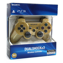 PlayStation 3 Dualshock 3 Wireless Controller - Metallic Gold (English) (Accessory) (PLAYSTATION3)