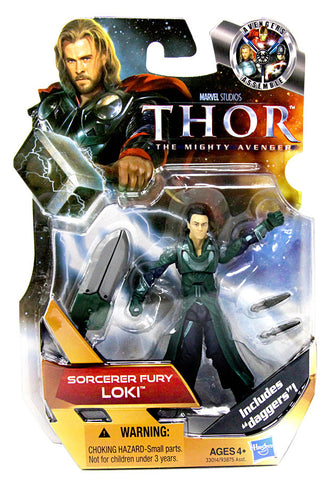 Thor Movie Action Figure - Sorcerer Fury Loki (#18) (Toy) (TOYS) TOYS Game