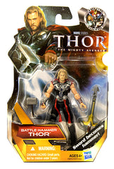 Thor Movie Action Figure - Battle Hammer Thor (#01) (Toy) (TOYS)