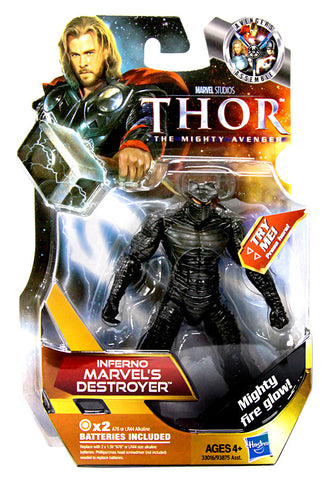 Thor Movie Action Figure - Inferno Marvels Destroyer (#20) (Toy) (TOYS) TOYS Game