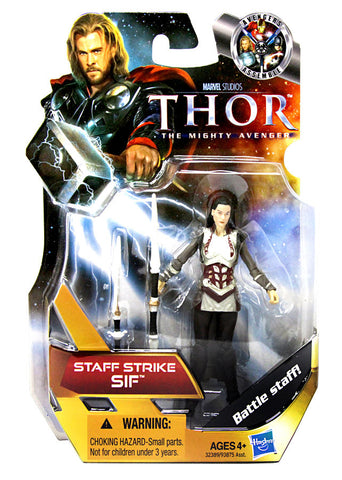 Thor Movie Action Figure - Staff Strike Sif (#16) (Toy) (TOYS) TOYS Game
