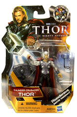 Thor Movie Action Figure - Thunder Crusader Thor (#15) (Toy) (TOYS)