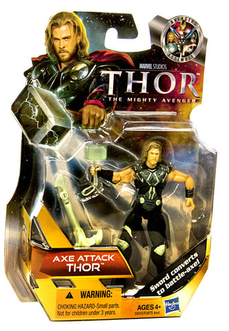 Thor Movie Action Figure - Axe Attack Thor (#17) (Toy) (TOYS) TOYS Game