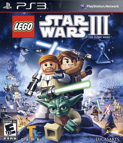 LEGO Star Wars III - The Clone Wars (PLAYSTATION3) PLAYSTATION3 Game