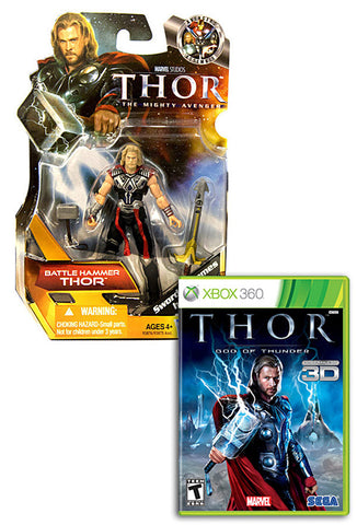 Thor - God Of Thunder with (Thor: Battle Hammer Figure) (XBOX360) XBOX360 Game