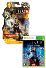 Thor - God Of Thunder with (Thor: Battle Hammer Figure) (XBOX360)
