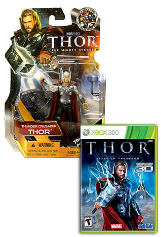 Thor - God Of Thunder with (Thor: Thunder Crusader Figure) (XBOX360) XBOX360 Game