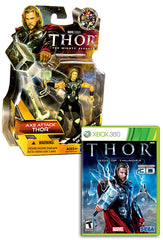 Thor - God Of Thunder with (Thor: Axe Attack Figure) (XBOX360)