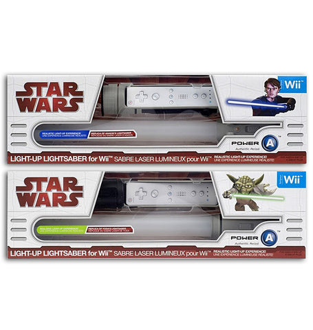 Star Wars - Light-Up Lightsaber - Yoda Green Version and Anakin Blue Version (2-Pack)(Toy) (TOYS) TOYS Game