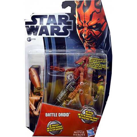 Star Wars Action Figure - Battle Droid (MH04 Red Version) (Toy) (TOYS) TOYS Game